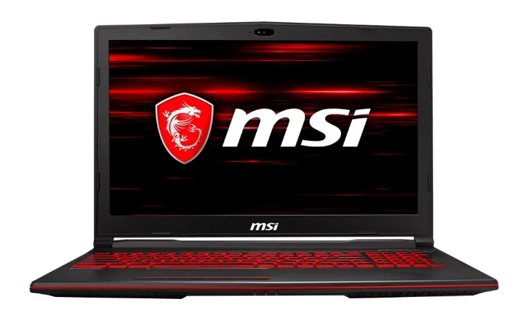 "MSI GL63 8RC (Intel Core i5 8300H 2300 MHz/15.6""/1920x1080/8GB/1000GB HDD/DVD нет/NVIDIA GeForce GTX 1050/Wi-Fi/Bluetooth/DOS) для игр"