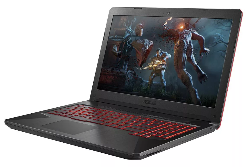 "ASUS TUF Gaming FX504GM (Intel Core i7 8750H 2200 MHz/15.6""/1920x1080/16GB/1000GB HDD/DVD нет/NVIDIA GeForce GTX 1060/Wi-Fi/Bluetooth/Без ОС) для игр"