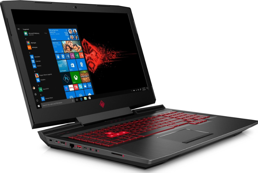 "HP OMEN 17-an105ur (Intel Core i7 8750H 2200 MHz/17.3""/1920x1080/16GB/1256GB HDD+SSD/DVD нет/NVIDIA GeForce GTX 1060/Wi-Fi/Bluetooth/Windows 10 Home) для игр"