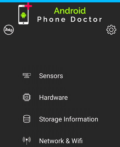 Phone Doctor For Android.