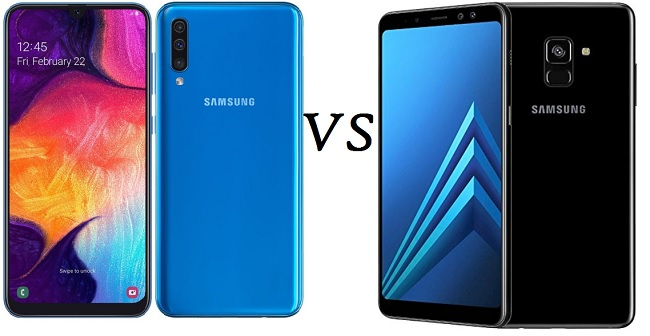 samsung galaxy a50 vs a8